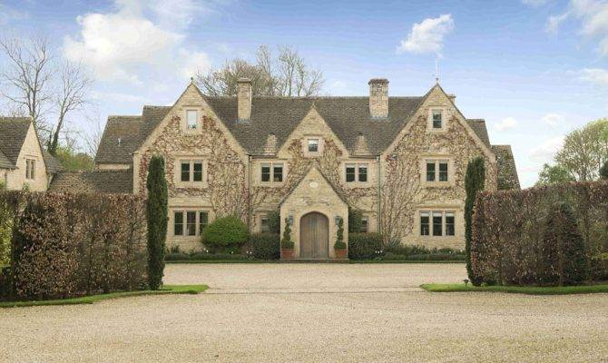 Stately Piles Building Brand New Mansions Their Country Estates