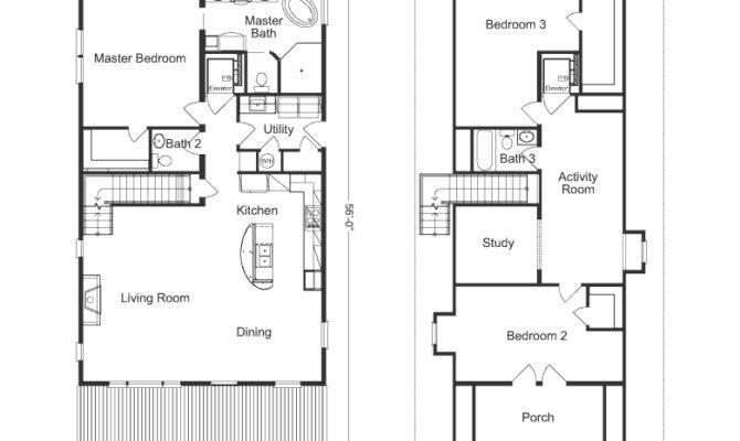 Steel Buildings Living Quarters Floor Plans Plan