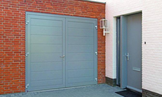 Steel Side Hinged Garage Doors Access