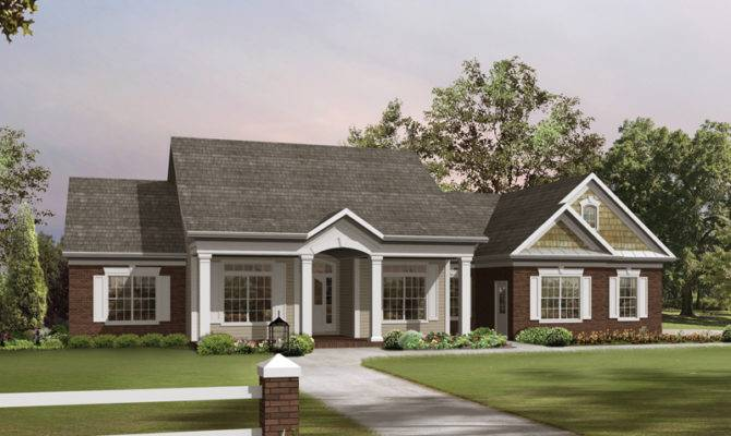 Stellaville Traditional Home Plan House Plans