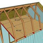 Step Diy Project Build Gambrel Roof Shed Building