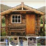 Step Log Cabin Construction