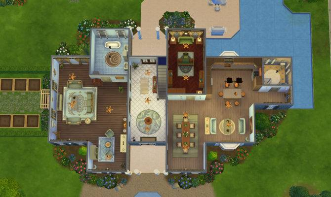 Stepford Mansion Sims