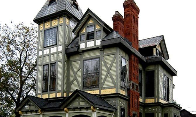 Stick House Eastlake Style Variation Queen Anne Popular