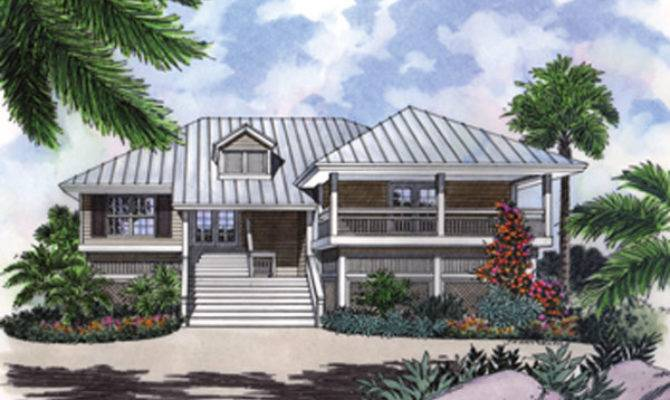 Stilt House Plan Decks Charm