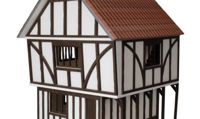 Stockwell Tudor Style Dolls House Kit Btk