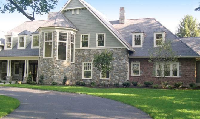 Stone Blend Home Exterior
