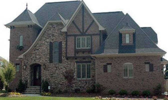 Stone Brick French Country House Plans