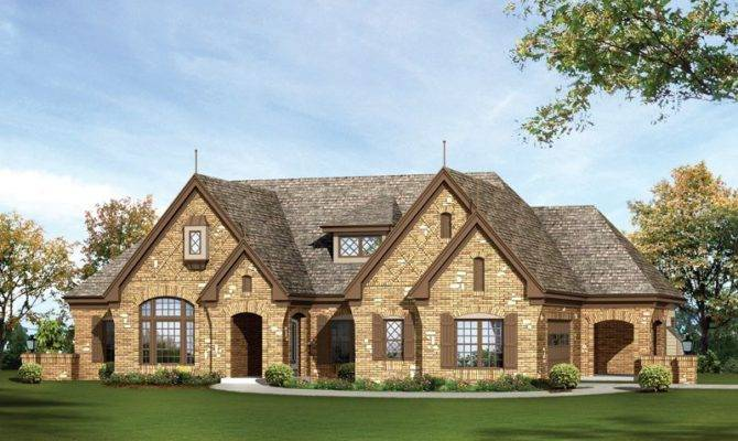Stone Brick Ranch Homes Home Features Ceiling
