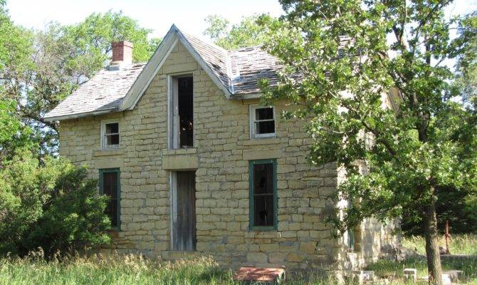 Stone Country Homes Have Old House