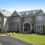 Stone Front Houses Elegance Veneer