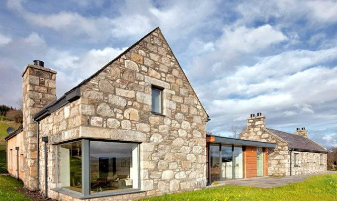 Stone Glass Torispardon House Modern Take