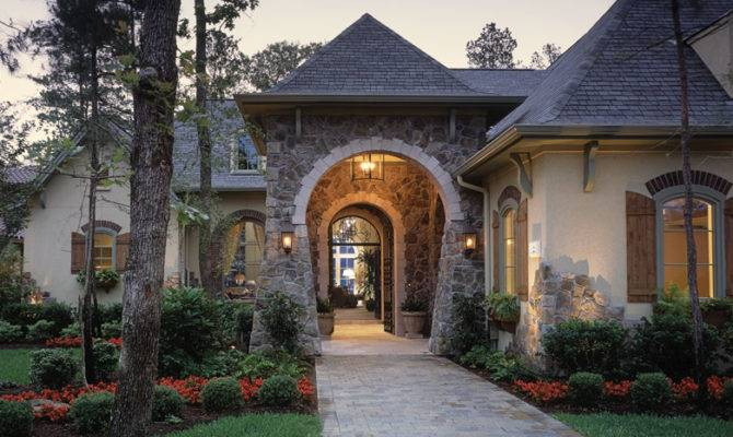 Stone House Design European Style