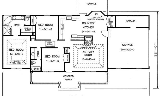 Stone House Designs Floor Plans Modern Plan