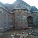 Stone Masonry Veneer Homes
