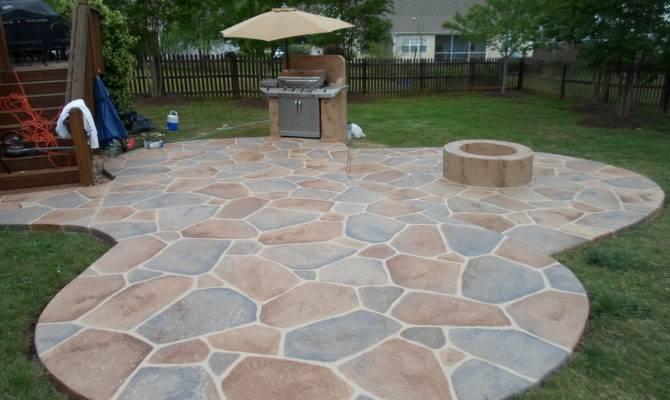 Stone Patio Ideas Home Improvement