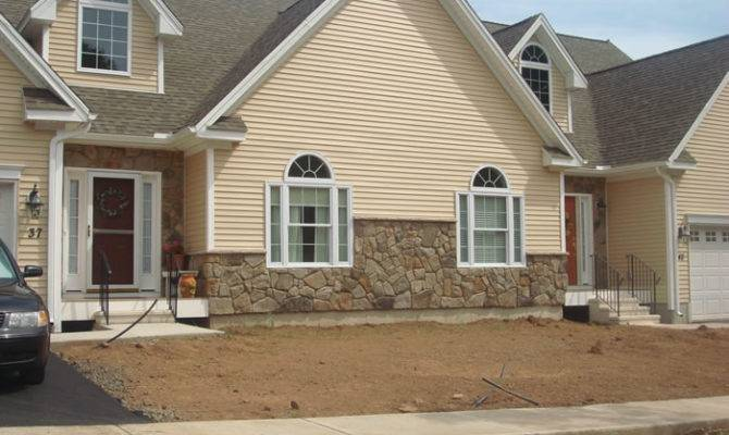 Stone Skirt Gives Home Great Curb Appeal Cultured