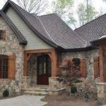 Stone Wood House Exterior Homes Pinterest
