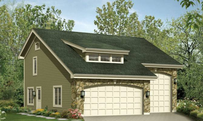 Stonetrail Apartment Garage Plan House Plans