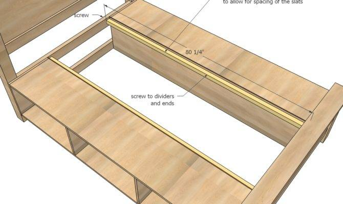 Storage Bed Woodworking Plans Woodshop
