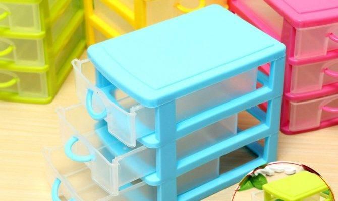 Storage Box Drawers Jewelry Organizer Holder