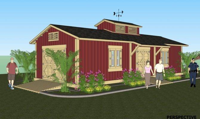Storage Shed Home Plans Cottage House