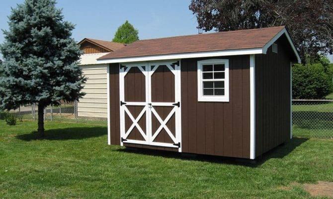Storage Shed Ideas Russellville Backyard
