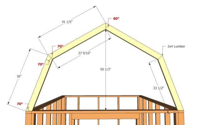 Storage Shed Plans Barn Style Best Design