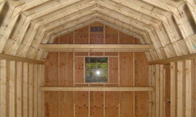 Storage Shed Plans Loft