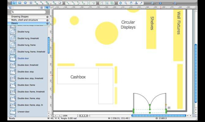 Store Layout Software Draw Layouts Floor Plans