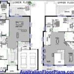 Storey Home Hillside Construction Floor Plans Blue Prints House