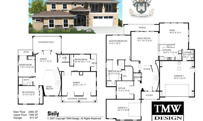 Storey House Cad Autocad Plans Houses Dwg Files