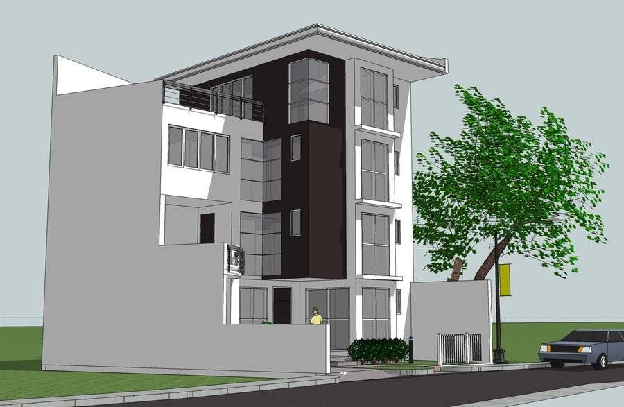 Storey House Design Roof Deck Ideas House Plans 89635