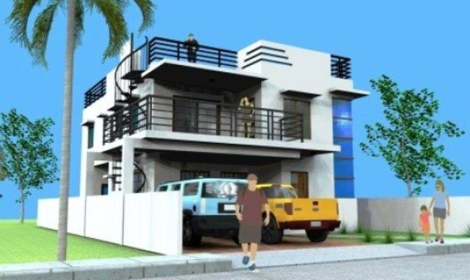 21 Best Simple 3 Story House With Rooftop Deck Ideas House Plans