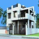 Storey House Design Rooftop Modern Plan