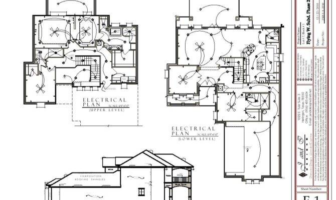 Storey House Electrical Plan Home Deco Plans