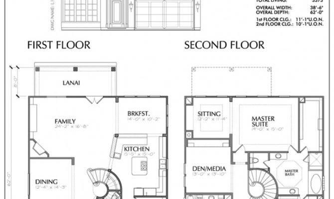 Storey House Plans Philippines Blueprint Balcony