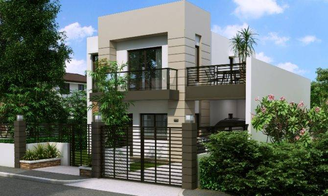 Storey House Plans Small Lots Philippines Home House Plans 95118