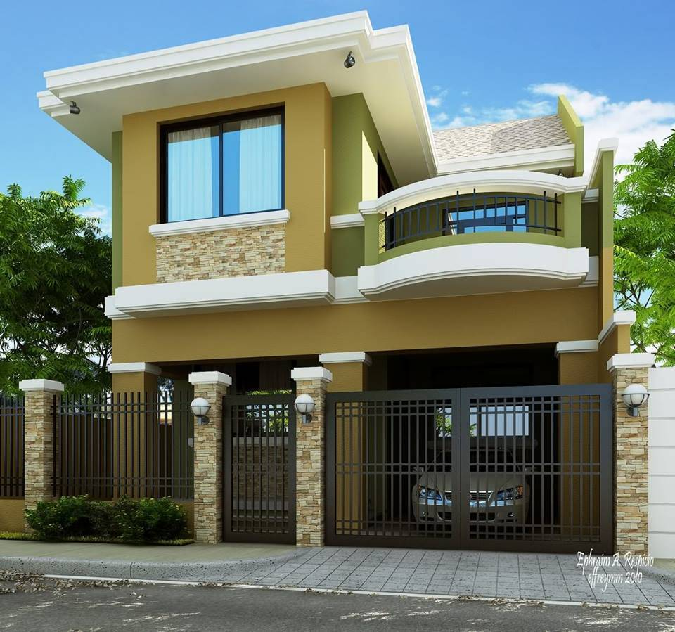 Home Design Ideas Build: Storey Modern House Designs Philippines Bahay Ofw