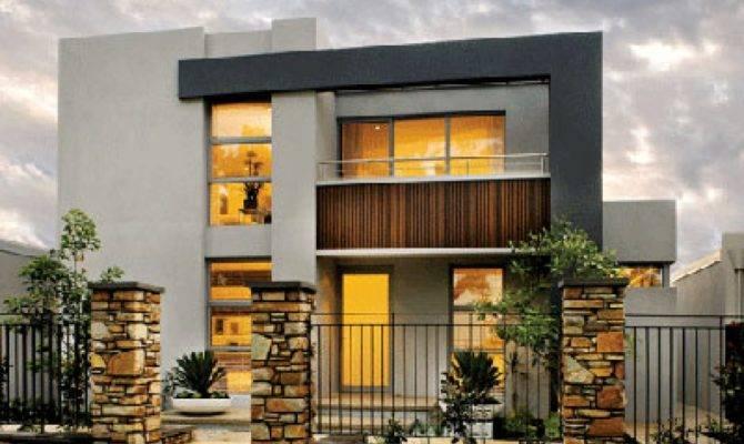 Storey Modern House Plans Plan