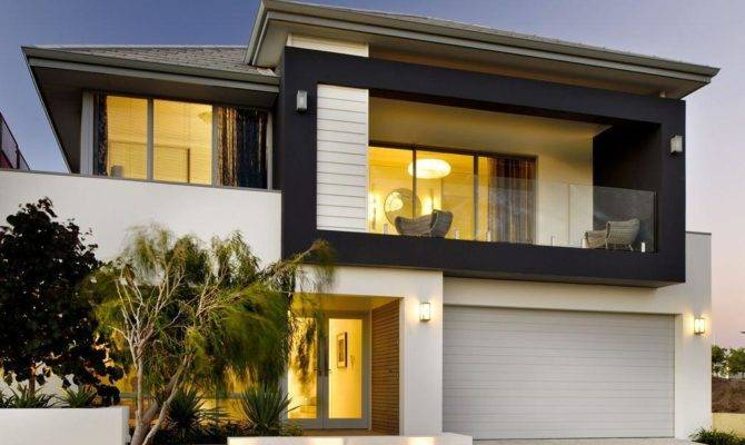 Storey Narrow Lot Home Builders Perth Vogue