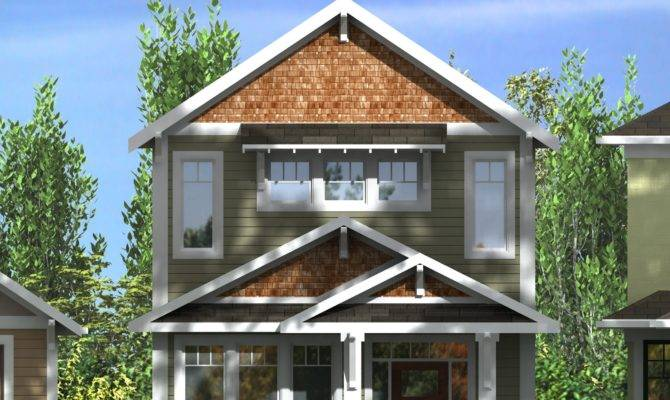 Storey Narrow Lot Home Plans Youtube