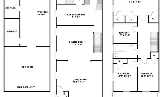 Storey Office Building Floor Plan