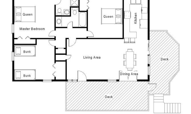 Story Beach House Floor Plans Home Deco
