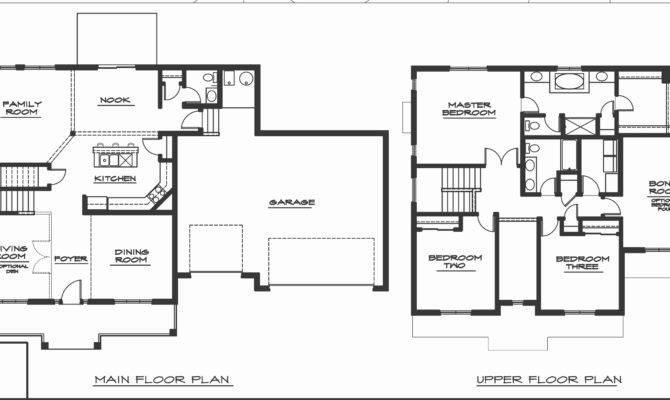 Story Beach House Plans Unique Bedroom Three Home