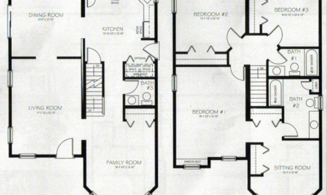 Story Bedroom Bath House Plans Archives New Home