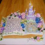 Story Book Castle Butercream Hand Drawn Map Rice Paper Rct