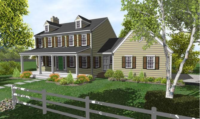 Story Colonial House Plans Sale Original Home