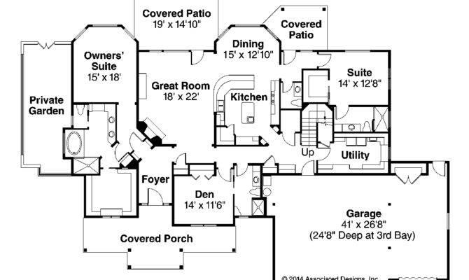 Story Craftsman Floor Plans Joy Studio Design Best