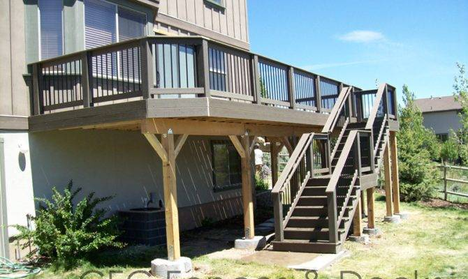 23 2nd Story Deck Designs Pictures From